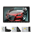 """7"""" Car Stereo CD VCD DVD USB Player MP3 SD Double 2 Din In Dash Radio US stock"""
