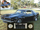 CD Changer Player & 300 watt* AM FM Stereo Radio '67-68 Camaro Black iPod USB in