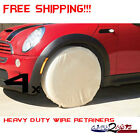 4 Four Tire Rim Wheel Trailer Covers ATV Snowmobile Motorcycle Dirt Bike UTV MUV
