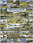 Wings Over Hampton Airfield NH Aircraft & Aviation Fly Market & Fly In Poster A