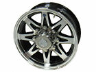 "16"" 8 Lug Series 14 Black Hispec HD Aluminum Trailer Wheel fifth wheel 9cc"