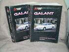 1998 Mitsubishi Galant Service Manual Volume 1-2