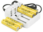 4x UltraFire 18650 Rechargeable Battery 5000mAh + Intelligent Rapid Charger U114