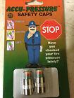 Accu pressure safety cap 28 PSI (Set of 2)