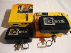 NOS VINTAGE cibie 35 yellow driving ligts size: SEV MARCHAL 750 MINT IN BOX