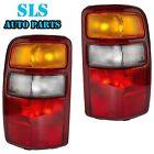 For 00-03 Chevrolet Suburban Tahoe GMC Yukon Taillight Taillamp Pair Set LH & RH