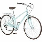700c Women's Hybrid Bike Schwinn Admiral Versatile 7-Speed Urban Styling Blue