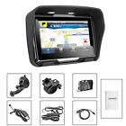 IPX7 4.3 Inch All Terrain GPS Navigation System For Motorcycle 8GB Bluetooth