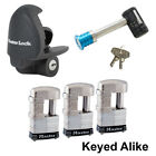 Master Lock - 5 Trailer Locks Keyed Alike - 5KA-37937