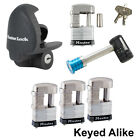 Master Lock - 6 Trailer Locks Keyed Alike - 6KA-37937-37