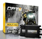 OPT7 Snowmobile AC HID Kit H4 9003 Bi-Xenon 5000K 5K White Headlight Light Bulbs