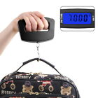50Kg/10g LCD Digital Electronic Portable Luggage Weight Wide Hook Scale B2