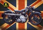SUNBEAM MOTORCYCLE METAL SIGN