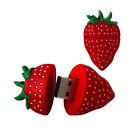 Strawberry model USB 2.0 Memory Stick Flash pen Drive 4GB 8GB 16GB 32GB GUSB117