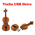 Cool violin model USB 2.0 Memory Stick Flash pen Drive 4GB 8GB 16GB 32GB GUSB159