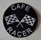 CAFE RACER IRON ON PATCH Aufnäher Parche brodé patche toppa Ton ROCKERS up