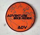 ADV Adventure Bike Rider IRON ON PATCH Aufnäher Parche brodé patche toppa