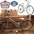 Retro Urban Women Wayfare Hybrid Bike 7 Speed Shifters Schwinn Rear Derailleur