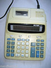 Victor 1228 Calculator 12 digit, great screen, DOES NOT PRINT/MISSING PAPER ARMS