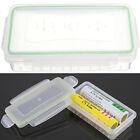 Hard Plastic Case Waterproof Battery Holder Storage Box Pack for 18650 Battery