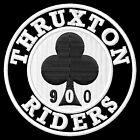 THRUXTON RIDERS 900 IRON ON PATCH Aufnäher Parche brodé patche toppa triumph
