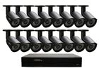 NEW Q-See 16-Channel HD Security System 2TB DVR + 16 x 720p Cameras