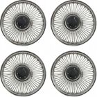 """Mustang Original Style 14"""" Wire Wheel Covers Set Of 4, 1964-1965 44-93959-1"""