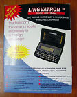 Special Unique  Electronic Talking Dictionary Pro English - Hebrew - English