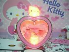 Sanrio Hello Kitty Heart Shape Alarm Clock - 6 Melody Chimes - E540KT Pink