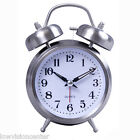 Old Fashion Loud Clock with Large Numbers, White Face & Black Numbers