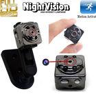Mini 1080P HD DVR Hidden Spy Camera IR Lamps Motion Detection Video Recorder Cam