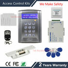 Remote Control ID Card Reader Doorbell Button Access Control Security System kit