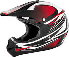 CYBER UX-23 DYNO RED OFF ROAD DIRT BIKE QUAD HELMET ALL SIZES SALE CHEAP