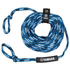 YAMAHA BLUE 3-4 RIDER 16 STRAND 2 SECTION 60' TUBE TOW ROPE RIVER LAKE TUBING