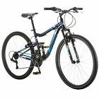 "Adult Men's Mountain 27.5"" Bike Full Suspension Aluminum Frame Bicyle"