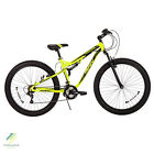 Men's Mountain Bike Huffy 21 Shimano Speed Mid-Fat Plus Tire 3.0 Volt Carnage