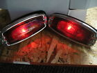 NEW REPLACEMENT PAIR OF TAIL LIGHT ASSEMBLIES FOR 41 42 46 47 48 CHEVROLET !