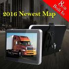 New Bluetooth 7 TRUCK CAR GPS Navigation Navigator SAT NAV US Canada Mexico Map