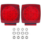 "Pair LED Light Trailer Under 80"" Tail Stop No Wiring Harness/Hardware,no-kits801"