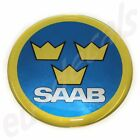 44mm/1.73inc.SAAB Swedish Air Force Aero Emblem Badge 900 9-5 9-3 3D decal