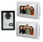 "7"" Monitor Video Door Phone Video Doorbell Intercom doorphone IR Night Vision"