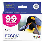 Epson EPST099320 T099320 (99) Claria Ink, 450 Page-Yield, Magenta