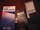 Sharp EL-506D Scientific Calculator