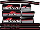 MERCRUISER THE 2016 MOST COMPLETE ALPHA ONE GEN.1 DECALS W/RED RAMS STICKER SET