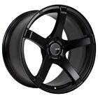 18x8.5 Enkei KOJIN 5x114.3 +35 Black Wheel (1 Rim only)