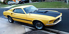 1969 Ford Mustang Mach 1 69 Ford Mustang Mach 1 H Code Fastback Running Driving !!!NO RESERVE!!!!