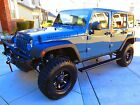 2014 Jeep Wrangler Unlimited Rubicon Sport Utility 4-Door Customized (never off-road)