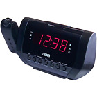 NAXA Electronics NRC-173 Projection Dual Alarm Clock - Free 2 Day Shipping