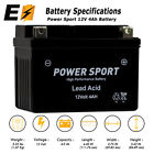 ExpertBattery YTX4L-BS Replacement for YT4L-12 Motorcycle Scooter ATV Battery
