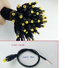 50pcs/lot length 30cm 5.5x2.1 mm DC Power Plug Male Connector cord Cable Adapter